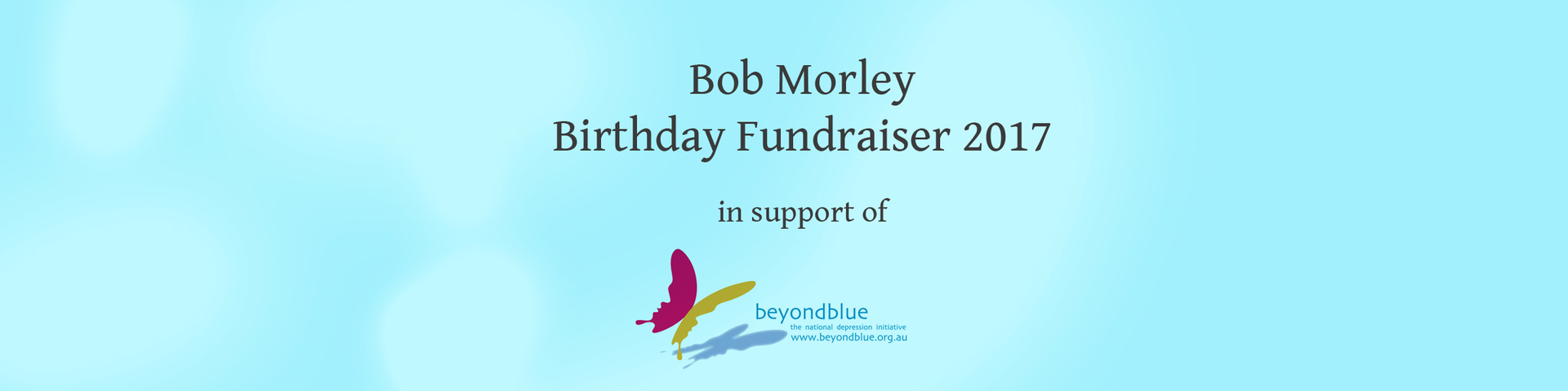Bob Morley Birthday Fundraiser Store