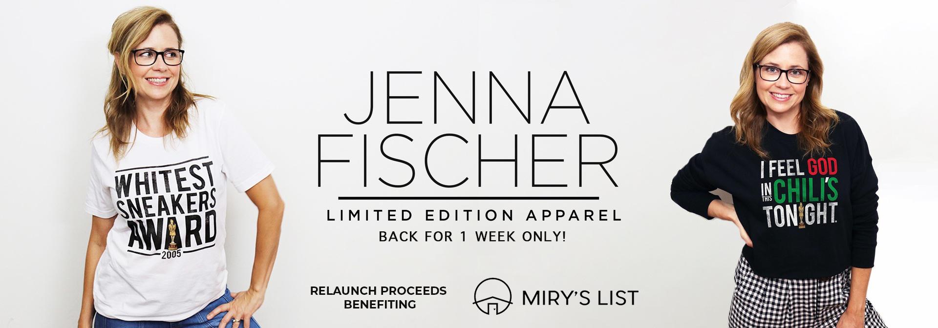 Jenna Fischer | Dundie Tribute Store