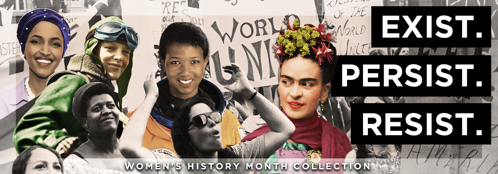 Women's History Month Collection Store