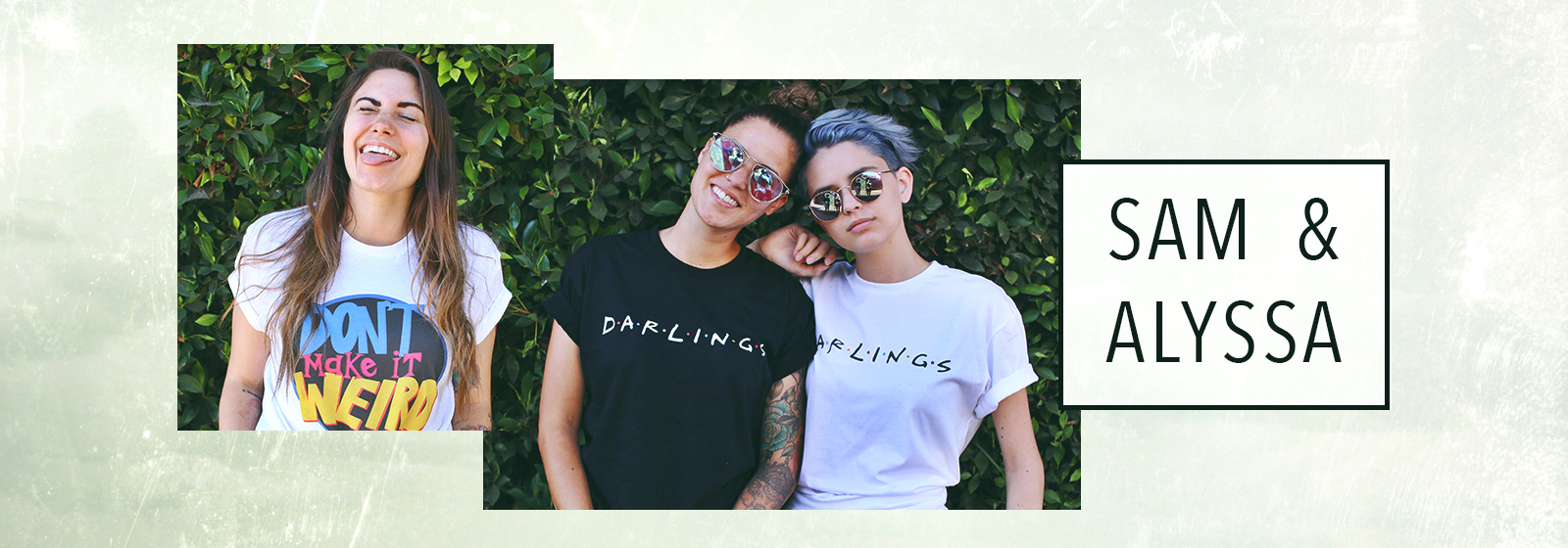 Sam & Alyssa Official Store Store