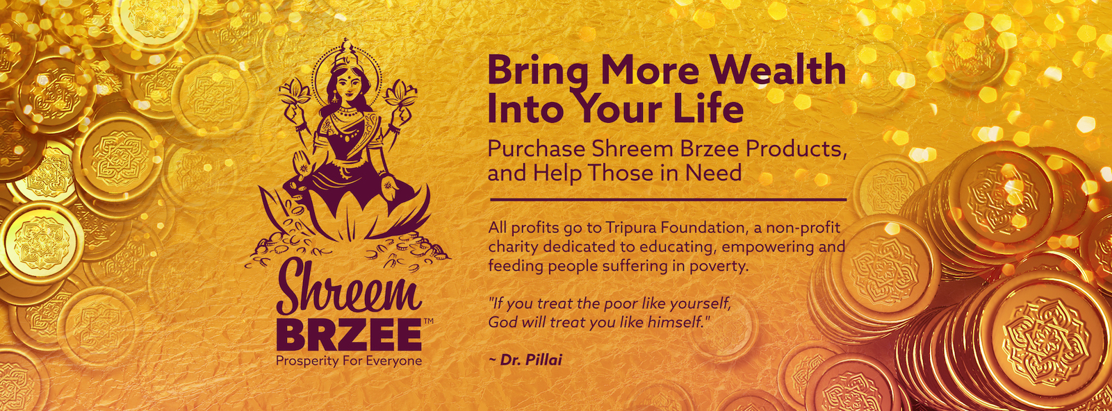 Shreem Brzee for a Million Meals of HoPE Store